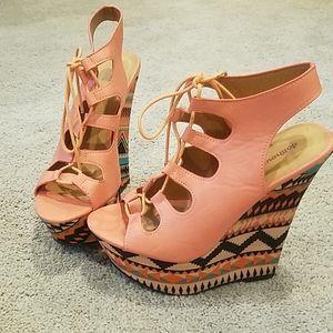 DOLLHOUSE plateau shoes